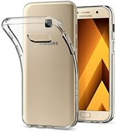 Samsung A3 2017 Siliconen Hoesje Case Transparant