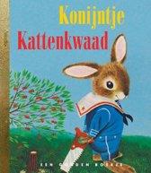 Omslag van 'Gouden Boekjes - Konijntje kattenkwaad'