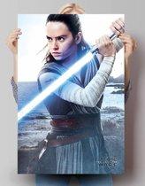 Star Wars - The Last Jedi Rey - Poster 61 x 91.5 cm