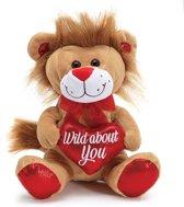 Valentijn leeuwke 'wild about you'