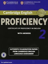 Cambridge English Proficiency 2 for updated exam. Self-study Pack (Student's Book with answers and Audio CDs (2))
