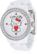 Hello Kitty - Horloge - Kunststof - 40 mm - Wit