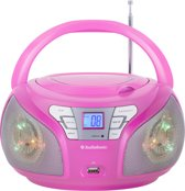 Audiosonic Cd-1560 Stereo Radio - Roze