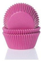 Cupcake Cups MINI Fuchsiaroze 35x23mm. 60st.