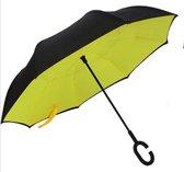 Powerplu - Binnenstebuiten Paraplu – Yellow