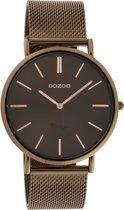 OOZOO Vintage Bruin horloge  (40 mm) - Bruin