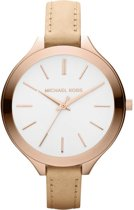 cbd10392963 bol.com | Bruin Michael Kors Horloge voor Dames kopen? Kijk snel!