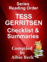 Tess Gerritsen: Series Reading Order - with Checklist & Summaries