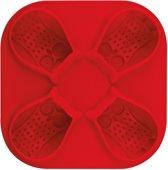 Tovolo IJsblokjesvorm Uil - Rood