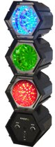 Ibiza Light - JDL032LED Zwart stroboscoop- & discolamp