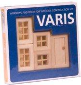 Varis Toys - Bouwdoos - Ramen en Deuren I - 5 stuks