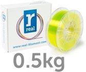 REAL Filament PETG transparant geel 1.75mm (500g)