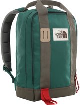 The North Face Tote Pack Unisex Rugzak - Night Green/New Taupe Grn - OS
