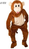 Kostuum plush mascotte aap