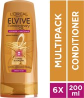 L'Oréal Paris Elvive Extraordinairy Oil Conditioner - 6x200 ml - Voordeelverpakking