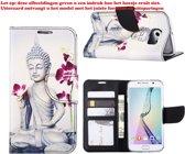 Xssive Hoesje voor Apple iPhone 4 /4s - Book Case Boeddha