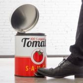 Balvi Afvalemmer,Tomato Sauce,5 L,metaal