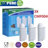 3x Brita Intenza Waterfilter - Bosch - Siemens waterfilter 00575491 / Intenza / TCZ7003 / TZ70003 / 575491 van Icepure CMF004