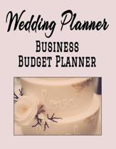Wedding Planner Business Budget Planner: 8.5'' x 11'' Professional Wedding Planning 12 Month Organizer to Record Monthly Business Budgets, Income, Expen