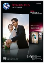 HP Premium Plus Glossy Snapshot Photo Paper pak fotopapier Glans