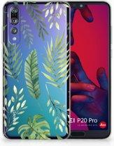 Huawei P20 Pro Uniek TPU Hoesje Leaves