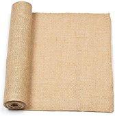 Echte natuurlijke rol jute - materialen voor kinderen en volwassen om te decoraties en knutselwerkjes maken (30cmx160cm)