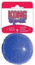 Kong Squeezz Ball XL - Piepend Speelgoed - 9 cm  - Rood/Blauw/Groen