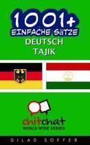 1001+ Einfache S tze Deutsch - Tajik