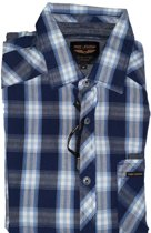 Pme legend blauw overhemd lange mouw - Maat S