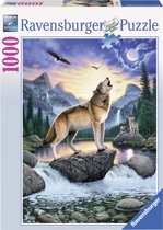 Ravensburger Het huilen van de wolf - Puzzel van 1000 stukjes