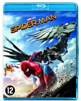 DVD cover van Spider-Man: Homecoming (Blu-ray)