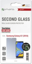 4Smarts Second Glass Galaxy A7 2018 Tempered Glass Screen Protector
