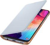 Samsung flip wallet - white - for Samsung A505 Galaxy A50