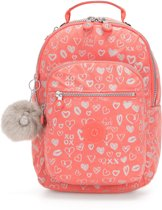 Kipling Seoul Go Small Laptoprugzak 13 inch - Hearty Pink Met