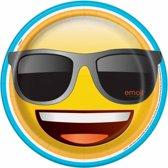 Emoji Borden 23cm 8 stuks