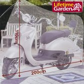 Lifetime Garden scooterhoes - Fietshoes - Beschermhoes - 200 x 110 cm.