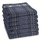 DDDDD Baloe - Keukendoek - 50x55 cm - Set van 6 - Blue