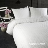 Papillon Vancouver - dekbedovertrek - tweepersoons - 200 x 200/220 - Wit