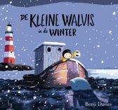 Boek cover De kleine walvis in de winter van Benji Davies (Hardcover)