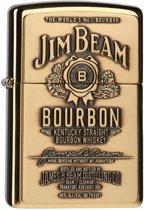 Aansteker Zippo Jim Beam Label Brass
