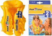 Intex Opblaasbaar Zwemvest Pool School Junior Geel