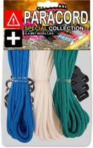 Paracord Set - Special Collection (Blauw / Wit / Mint)