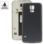 mobtsupply Samsung Galaxy S5 SM-G900F Batterij Cover Achterkant Zwart