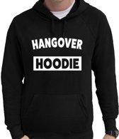 Hangover/kater hoodie zwart voor heren - fun tekst hooded sweater L