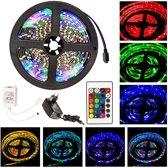 TecTake - 10* 5 meter LED strip, verlichting, RGB, compleet 401568
