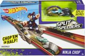 Hot Wheels Split Speeders Ninja Chop - Racebaan