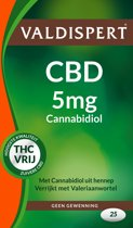 Valdispert CBD (5 mg) - Voedingssupplement