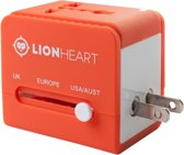 Lionheart Universele Wereldstekker - 2 USB-poorten