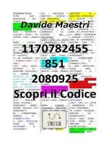 1170782455 – 851 – 2080925 / Scopri il Codice (Tradotto)