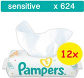Pampers Sensitive Billendoekjes - 624 Stuks